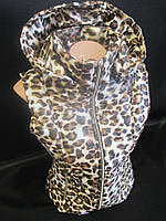 Молодежные жилетки с леопардовой расцветкой., фото 1