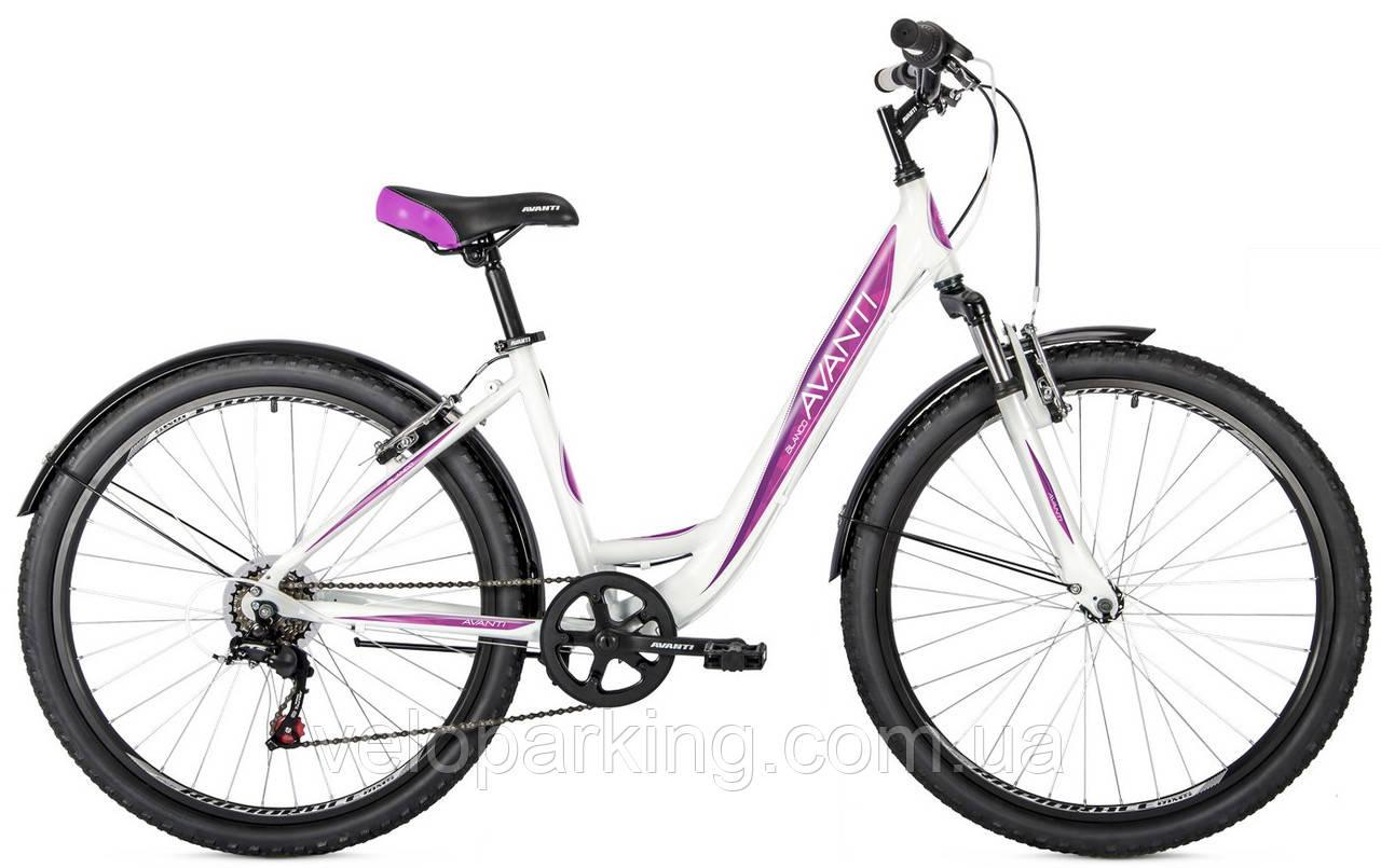 Горный алюминиевый дамский велосипед Avanti Blanco 26 (2019)  new