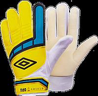 Перчатки вратарские UMBRO р-р (7,8,9) желтый, фото 1