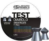 Пули пневматические JSB Diabolo Test 4.5мм