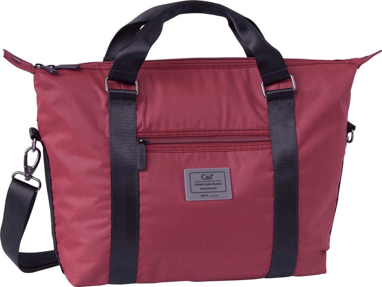 e6f90652a0a3 Женская тканевая сумка CAT Women's 83643;173, темно-красный — только ...
