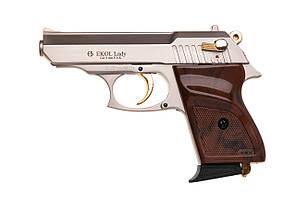 Пистолет сигнальный EKOL LADY (сатин/золото)