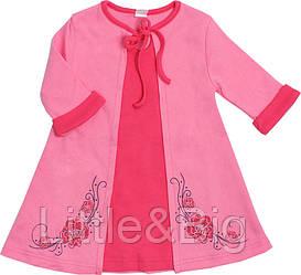 Платье Valeri-Tex 1939-55-090-006 Розовый