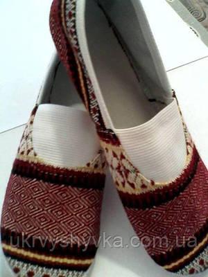 Взуття до вишитого костюма доросле 3eb1cc545cf0d