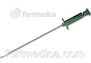 Игла для мягкотканной гильотинной биопсии для многоразовых биопсийных систем