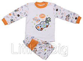 Пижама Valeri-Tex 1782-55-191-027-02 86 см Белый
