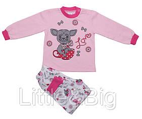 Пижама Valeri-Tex 1618-55-152-006 80 см Розовый