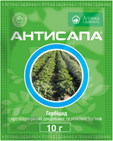 Гербицид Антисапа 10 грамм, системного действия от сорняков, Ukravit