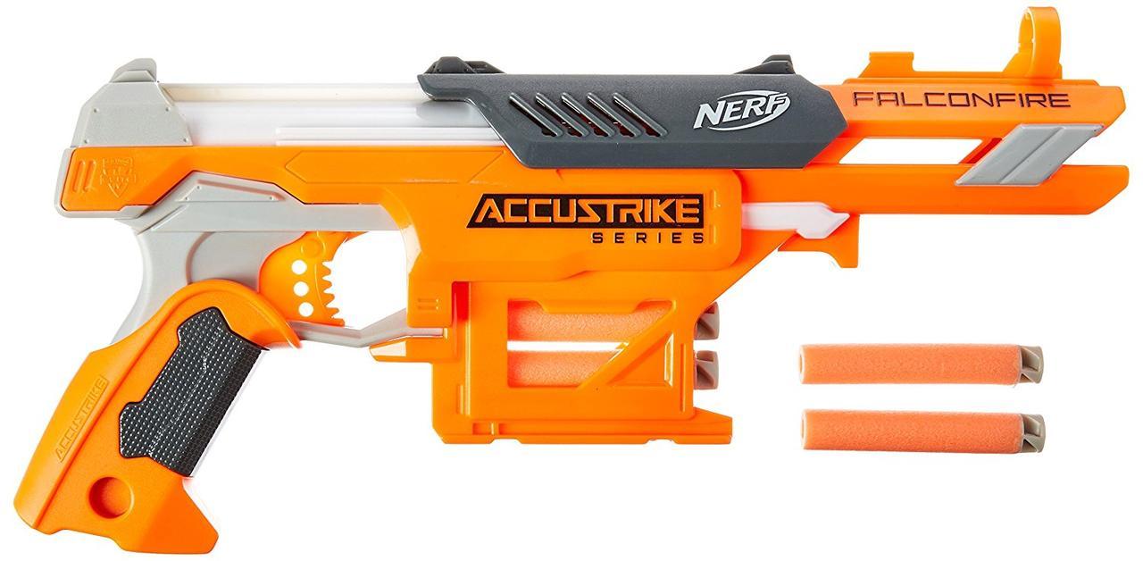 Бластер Нерф детское оружие Акустрайк Фалконфайр Nerf N-Strike Elite AccuStrike Series FalconFire