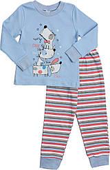 Пижама Valeri-Tex 1786-55-090-008  Голубой