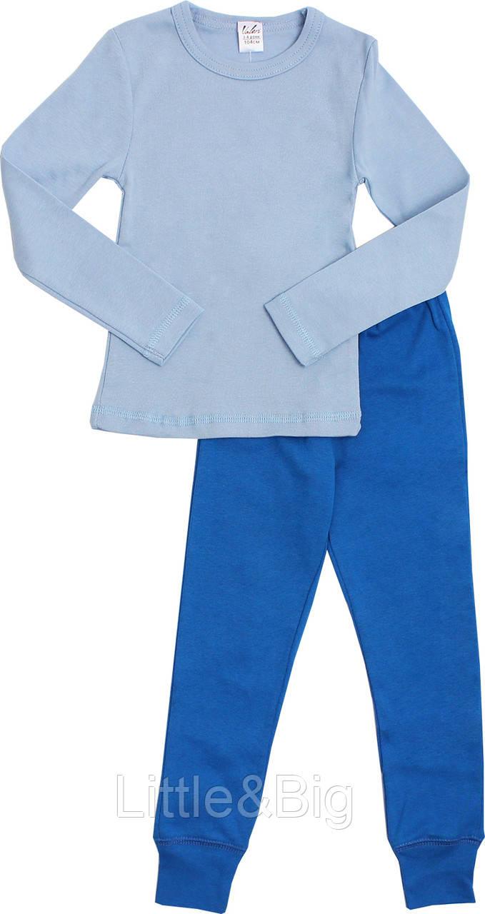 Комплект Valeri-Tex 1480-99-418-008 134 см Голубой