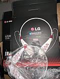 Спортивні бездротові Stereo навушники LG S740T MP3 Headphone, Bluetooth гарнітура чорного кольору, фото 8