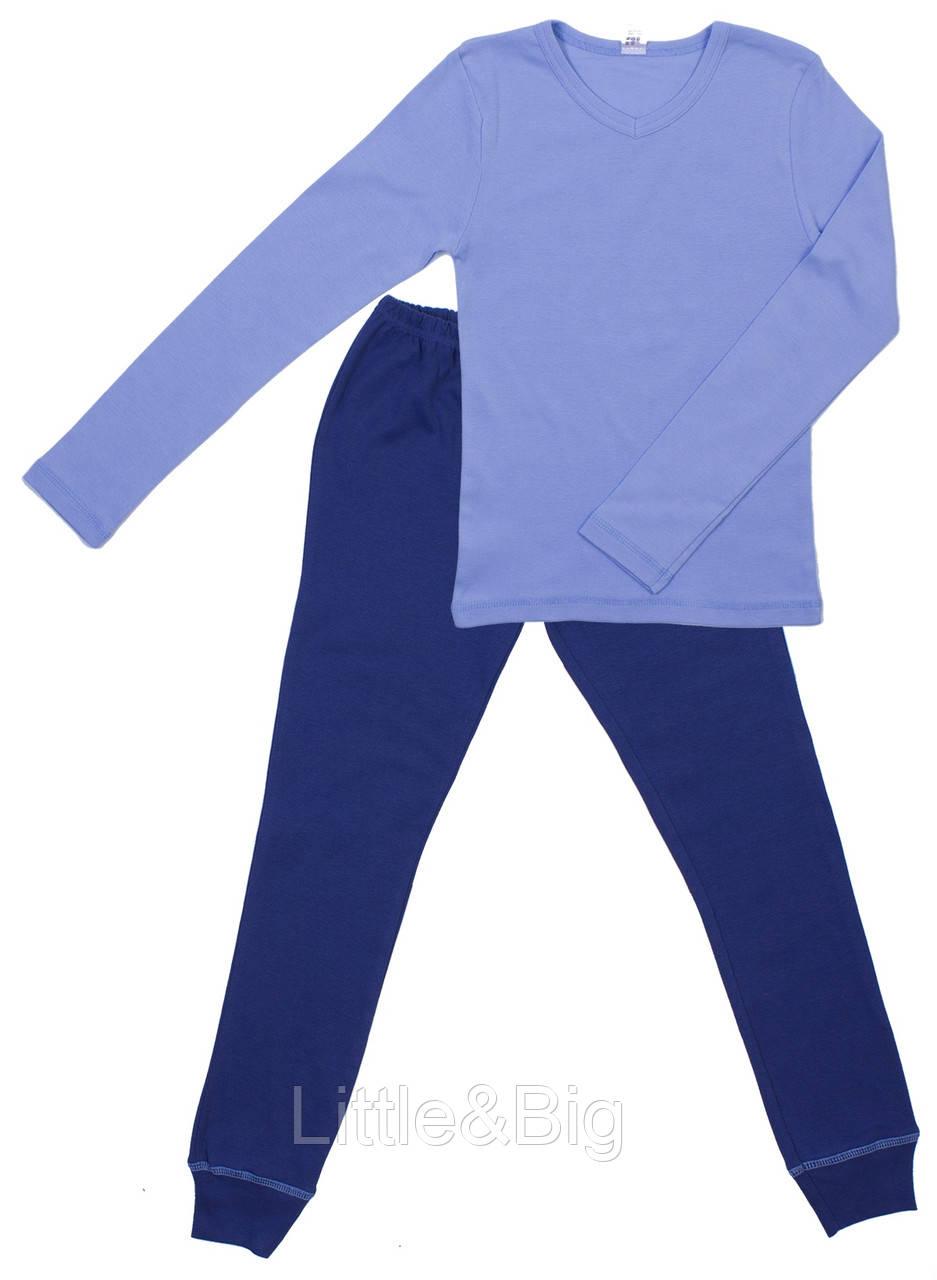 Комплект Valeri-Tex 1552-99-418-008 122 см Голубой