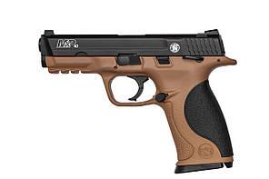 Пистолет пневматический Smith&Wesson M&P 40TS FDE