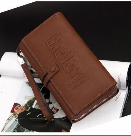 Мужской клатч портмоне Baellerry Guero (коричневый) Гуэро