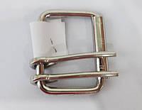 Пряжка ременная м. клас. 4 см./2 прокола сталь