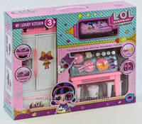 Кухня кукольная РТ 3040 А  кукла в капсуле, аксессуары, в коробке, фото 1