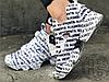 Женские кроссовки Reebok Instapump Fury Vetements Emoji White/Black 181669M23, фото 2