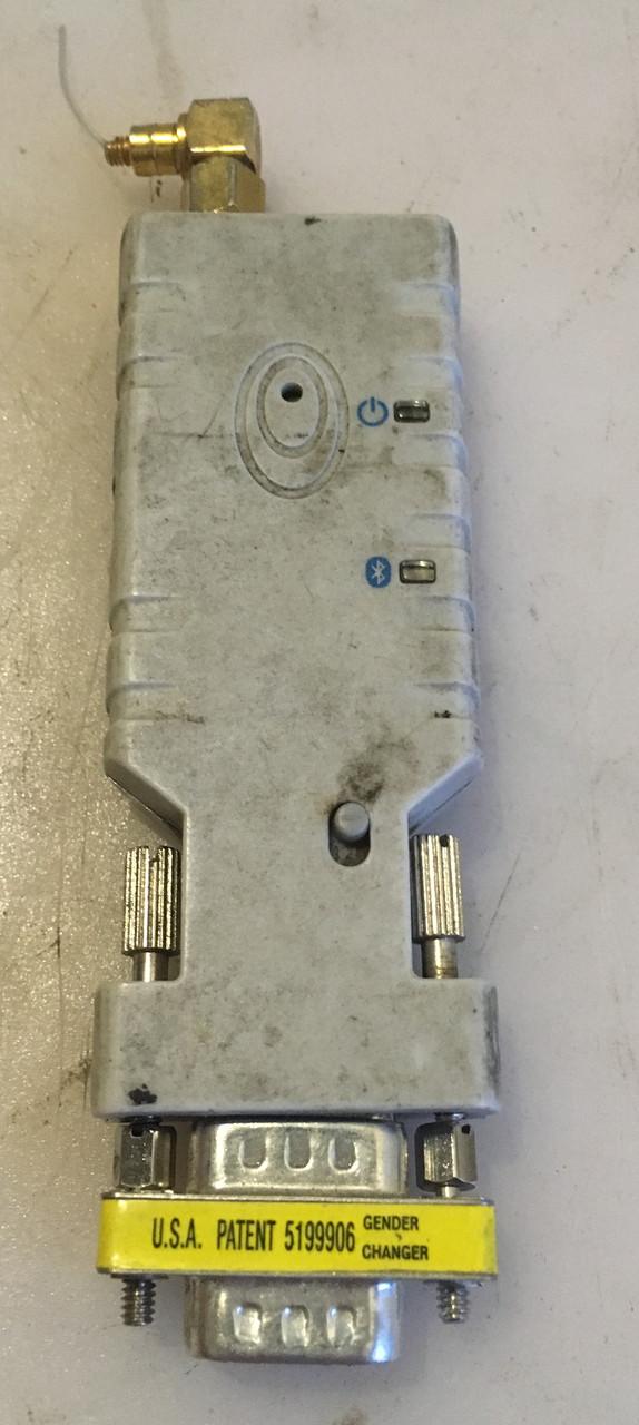 Беспроводной адаптер com rs232 для bluetooth. Комплектация с переходником