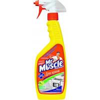 Засіб для миття кухні Mr.Muscle Експерт 450 мл розпилювач лимон