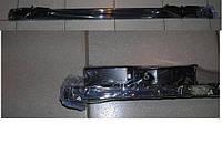 Багажник  двухреечный прямоугольный профиль на авто с релингами
