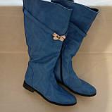Женские кожаные демисезонные сапоги  Размер 36, фото 3