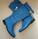 Женские кожаные демисезонные сапоги  Размер 36, фото 5