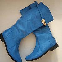 Женские кожаные демисезонные сапоги  Размер 36, фото 1