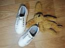 Белые оригинальные кеды мокасины Next (Размер 30.5, 19см), фото 3