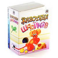 Детский набор для творчества Животные из шариков
