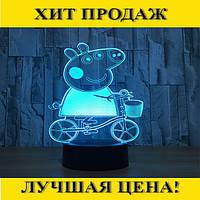 """3D светильник """"Свинка Пеппа""""!Спешите Купить"""