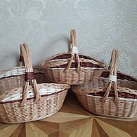 Плетеный нобор из целой лозы, фото 1