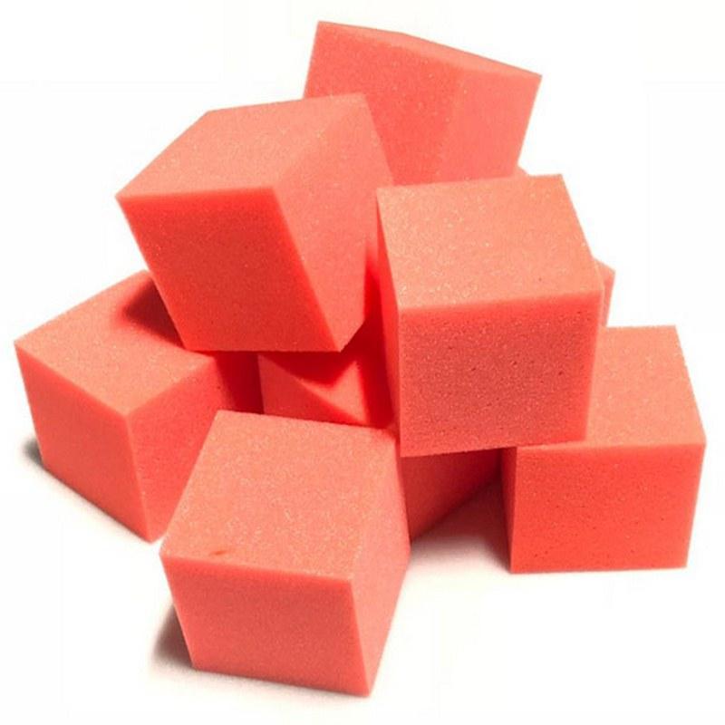 Поролоновые кубики Красный