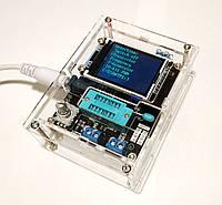 GM328А с КОРПУСОМ, Измеритель ESR LCR, Генератор, Частотомер, Транзистор тестер,Тестер электронных компонентов