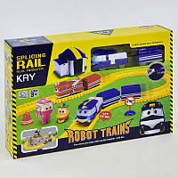 Железная дорога 828-9 (30/2) на батарейках, в коробке