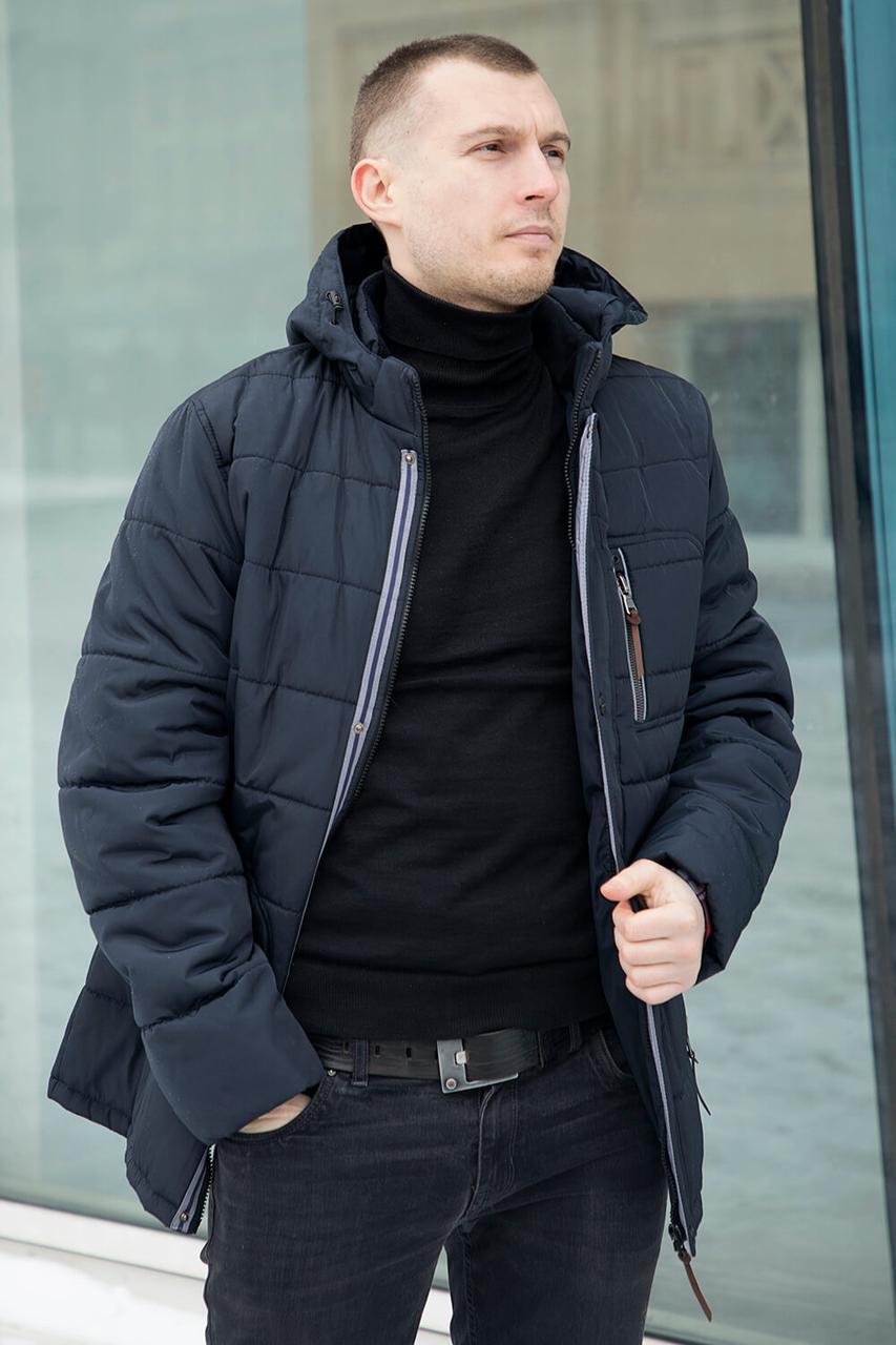 Куртка мужская демисезонная с капюшоном с 50 по 58 размер