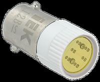 Лампа сменная  желтая матрица 220B IEK (BMS10-220-K05)