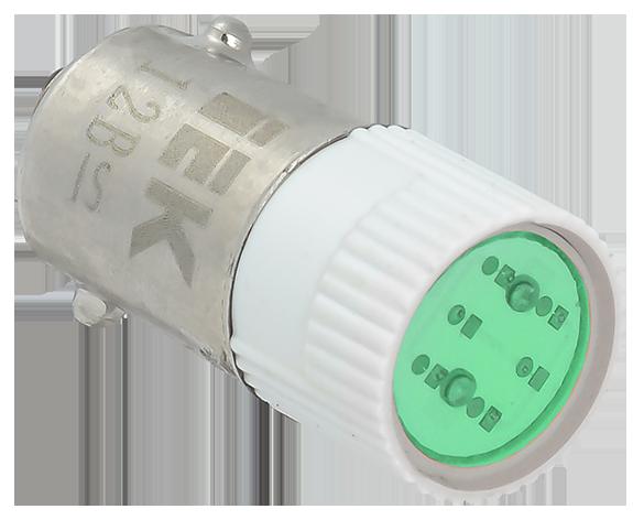 Лампа сменная  зеленая матрица 36B IEK (BMS10-036-K06)