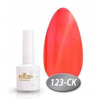 """Гель-лак Nice Cool """"Кошачий Глаз"""" CK-123 (каучуковый), 8,5 мл"""
