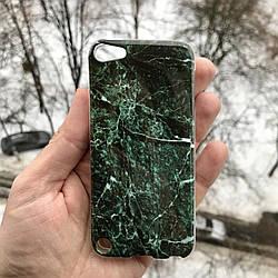 Полиуретановый чехол гранит для Apple iPodtouch 5\6\7 + защитная пленка на экран в подарок