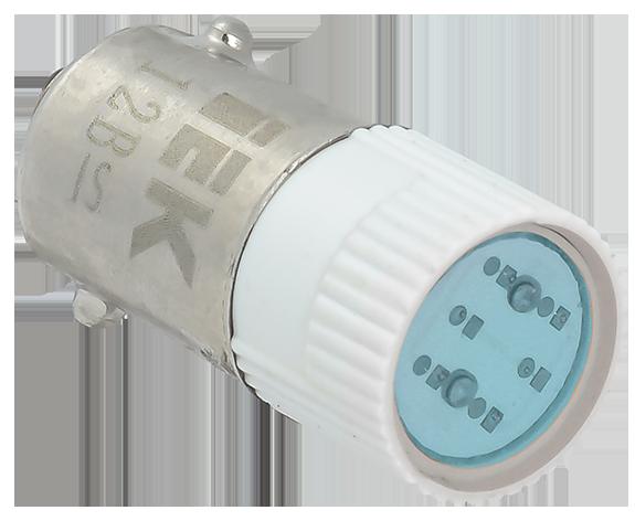 Лампа сменная  синяя матрица 220B IEK (BMS10-220-K07)