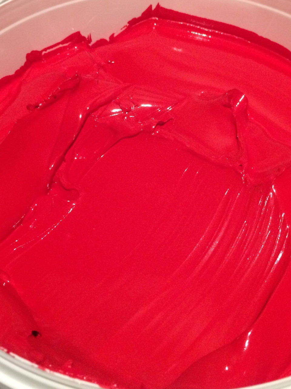 Краска пластизольная красная Red 235