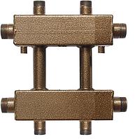 Коллектор распределительный с универсальным подключением СК 172.125 на 2 контура