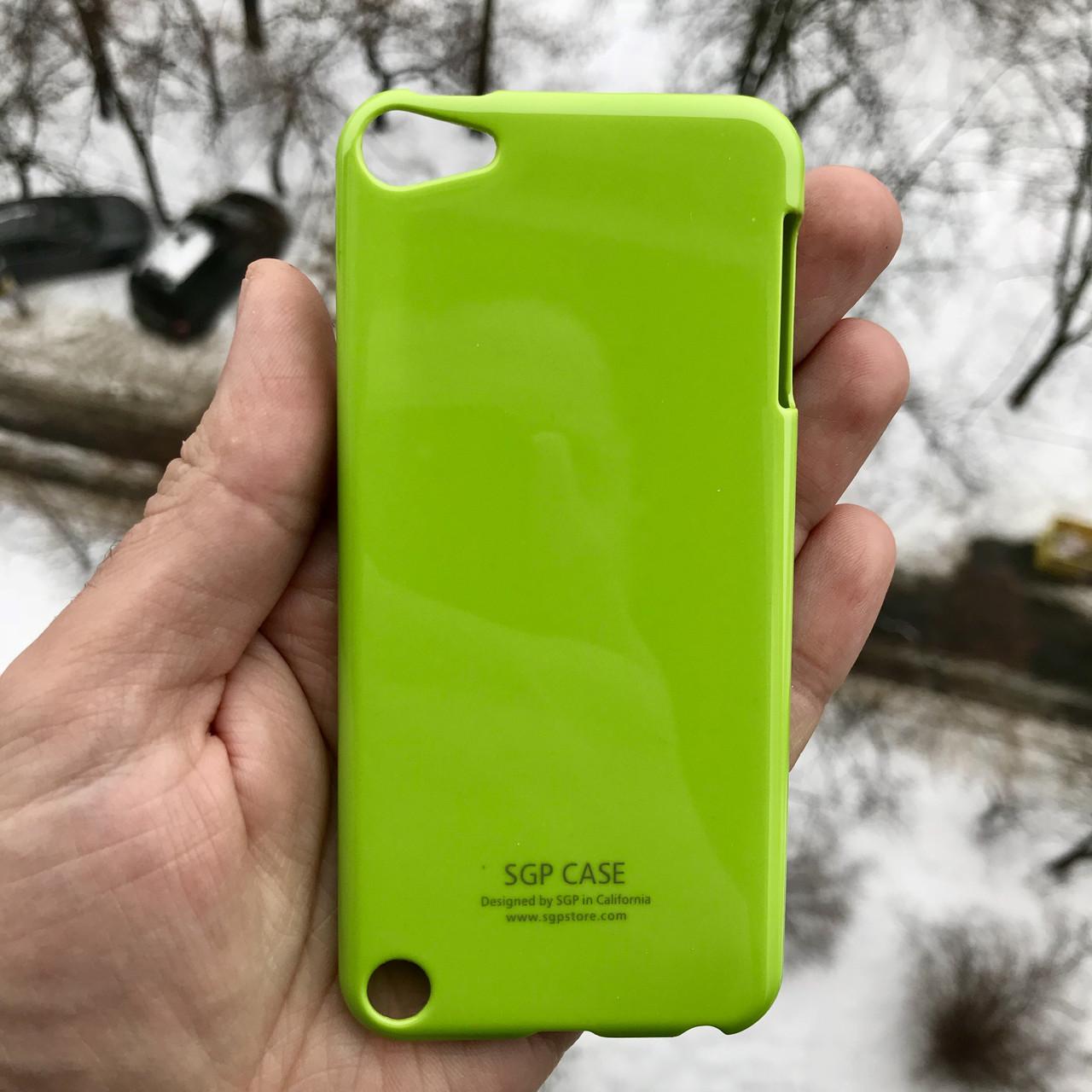Фирменный чехол SGP для Apple iPodtouch 5\6\7 + пленка в подарок