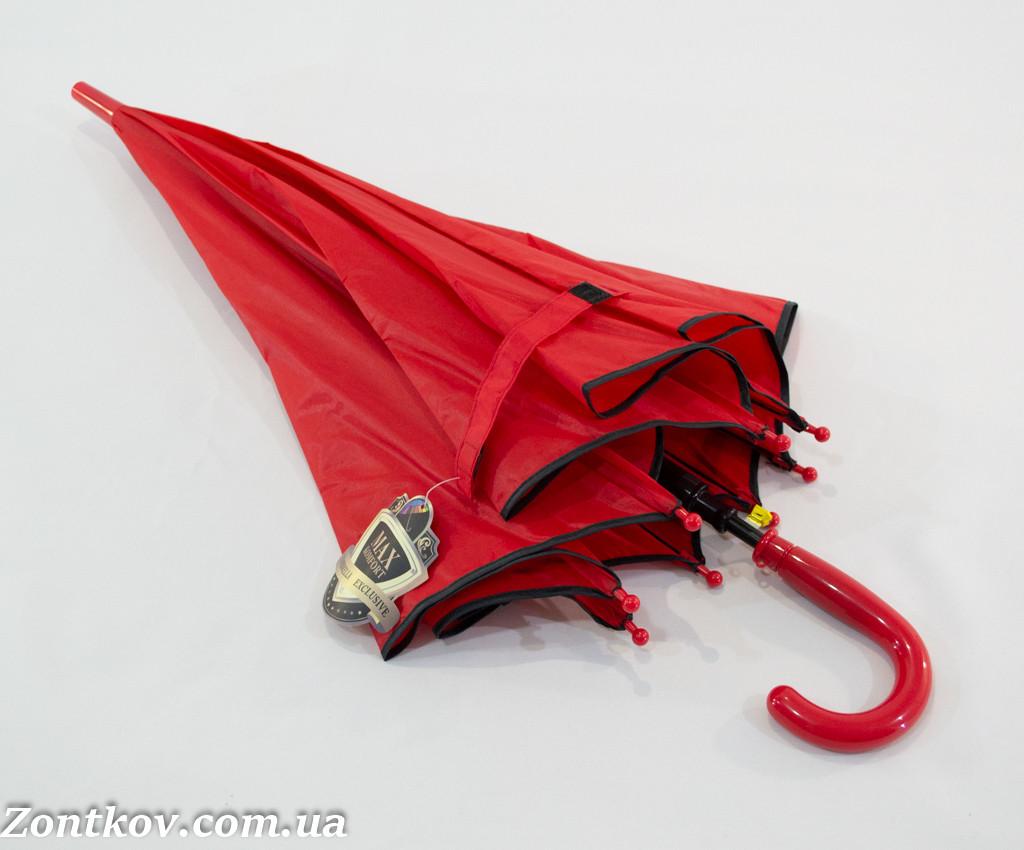 """Дитячий однотонний парасольку тростину на 5-10 років від фірми """"MaX"""""""
