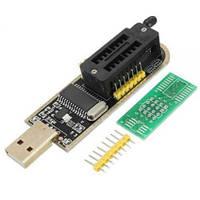 Программатор CH341A USB для EEPROM/FLASH 24/25 серии (Преобразователь USB-UART)