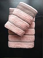 Набор махровых полотенец 70х140 + 50х90, фото 1