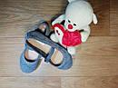 Стильные замшевые оригинальные туфельки на девочку H&M (Размер 31, 20см), фото 2