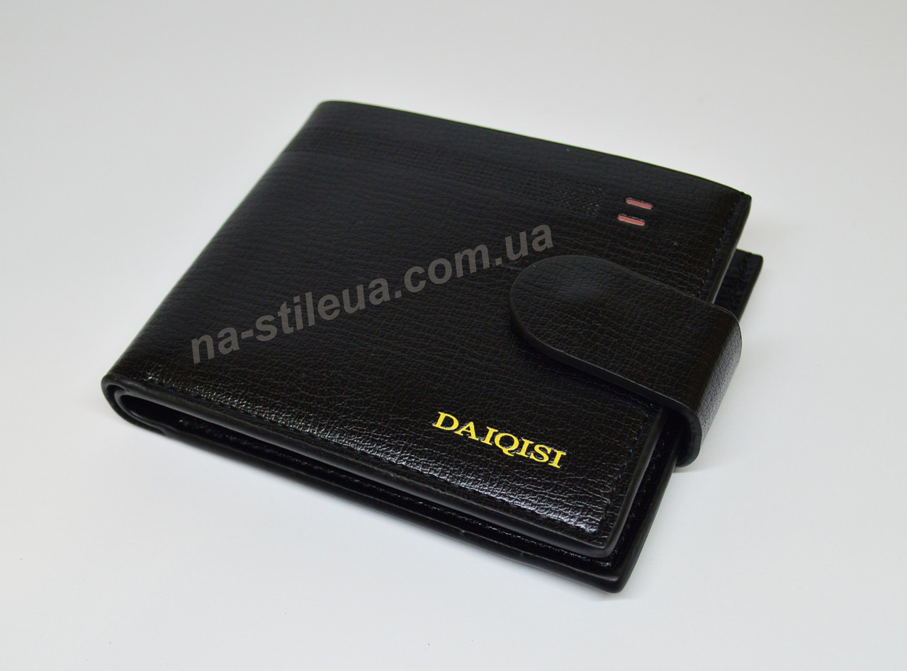 ba469d2e0661 ... Мужской кожаный кошелек портмоне гаманець бумажник DAIQISI купить, ...