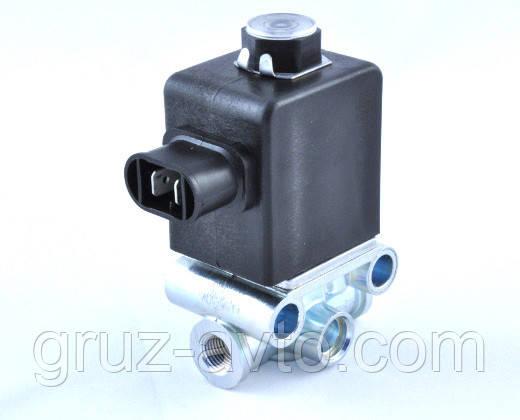 Клапан пневматический электромагнитный 24V КЭМ-10 нового образца